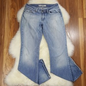 Joe's Jeans Cre Light Wash Faded Bootcut Size 28